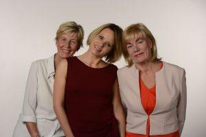 Frau Lempke, Frau Meier und Frau Bull vom Lofty-Fachgeschäft in Hamburg