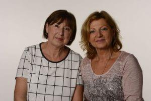 Frau Lauschke und Frau Neubauer freuen sich auf Ihren Besuch in Nürnberg