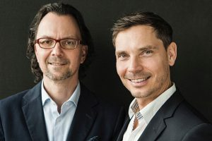 Geschäftsführer von Lofty: Reinhold Stegmayer (li) und Tilo Degenhardt