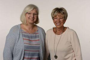 Frau Hein und Frau Metz freuen sich auf Ihren Besuch in Solingen