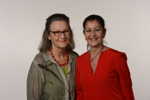 Frau Frey und Frau Duru aus dem Fachgeschäft in Stuttgart