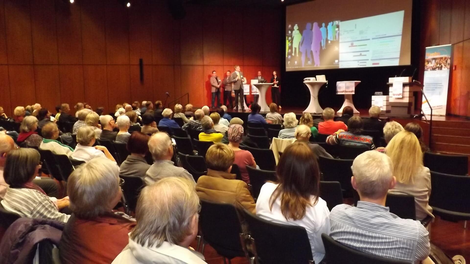 Auditorium beim Krebsinformationstag