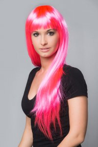 Perücke Lofty Gaga Pink