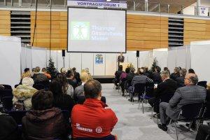 Vortrag auf der Th�ringer GesundheitsMesse