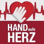 Logo Hand aufs Herz